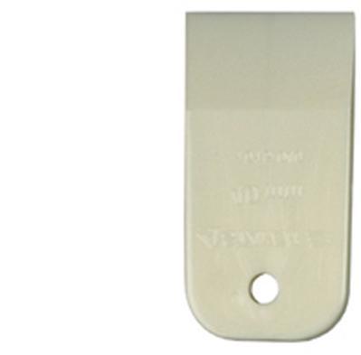 Шпатель резиновый 100 мм белый