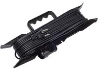 Удлинитель на рамке силовой ПВС 2200 Вт с/з, 50м