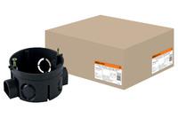 Установочная коробка СП D68х42мм,IP20,TDM