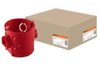 Установочная коробка СП D68х62мм,углубленная,IP20, TDM