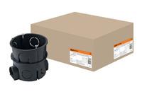 Установочная коробка СП D65х65мм, углубленная,IP20, TDM