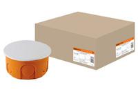 Распаячная коробка СП D80х40мм,IP20,TDM