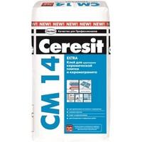 Клей для керамической плитки и керамогранита Ceresit CM 14 Extra, 25 кг
