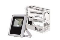 Прожектор светодиодный СДО10 Вт, 6500 серый