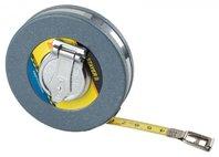 """Мерная лента STAYER """"PROFI"""", 50 м, стальное полотно 13 мм, ударопрочный пластмассовый корпус, 34169-050"""