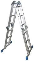 Алюминиевая лестница-трансформер LWI 4x4
