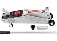 Домкрат гидравлический подкатный, 3 т, h подъема 150–530 мм MATRIX MASTER (51040)
