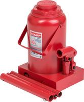 Домкрат ЗУБР гидравлический бутылочный, 30 т, 285-465 мм (43060-30)