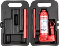Домкрат ЗУБР гидравлический бутылочный в кейсе, 3 т, 194-372 мм (43060-3-K)