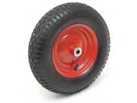 Колесо для строительной тележки пневматическое Д-400 мм, д-10 мм