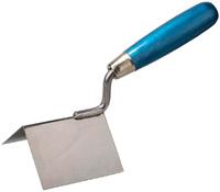 Кельма STAYER для внешних углов, нержавеющее полотно, 80х60 мм (0835)