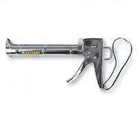 """Пистолет KRAFTOOL """"INDUSTRIE"""" для герметиков, полукорпусной, хромированный, 320 мл (06671)"""