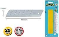 """Лезвие """"OLFA"""" OL-HB-5B сегментированное 25x126x0.7 мм (5 шт)"""