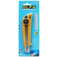 """Нож """"OLFA"""" OL-L-1 с выдвижным лезвием эргономичный 18 мм"""