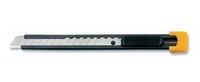 """Нож """"OLFA"""" OL-SVR-1 с выдвижным лезвием и корпус из нержавеющей стали 9 мм"""