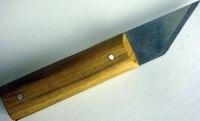 Нож сапожный деревянная ручка
