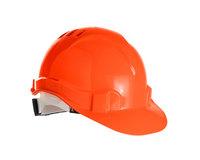 Каска строительная защитная оранжевая