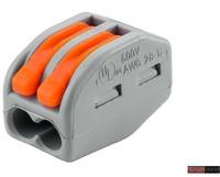 WAGO клемма 222-412 без пасты на 2 провода