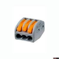 WAGO клемма 222-413 без пасты на 3 провода
