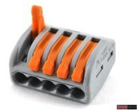 WAGO клемма 222-415 без пасты на 5 проводов