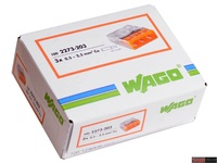 WAGO клемма 2273-203 без пасты на 3 провода плоская
