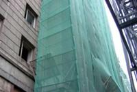 Сетка защитная фасадная для укрывания строительных лесов 4х100 м