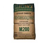 Сухая смесь М200 монтажно-кладочная МКУ, 40 кг