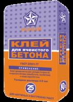 Русеан Пеноблок - клей для ячеистого бетона, 25кг
