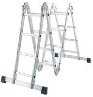 Алюминиевая лестница-трансформер LWI 4x6