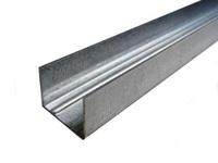 Профиль направляющий Эконом ПН 100х40, 0,38 мм, 3 м