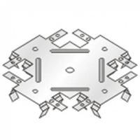 Краб соединительный для профиля ххх1 KR-60х27