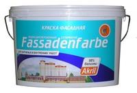 Краска фасадная Fassadenfarbe, 14 л