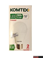 Светодиодная лампа Груша Е27 10Вт (белый)